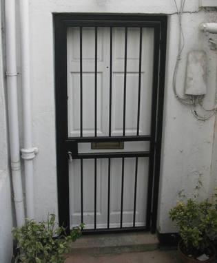 Great Single Front Door Bar Gate