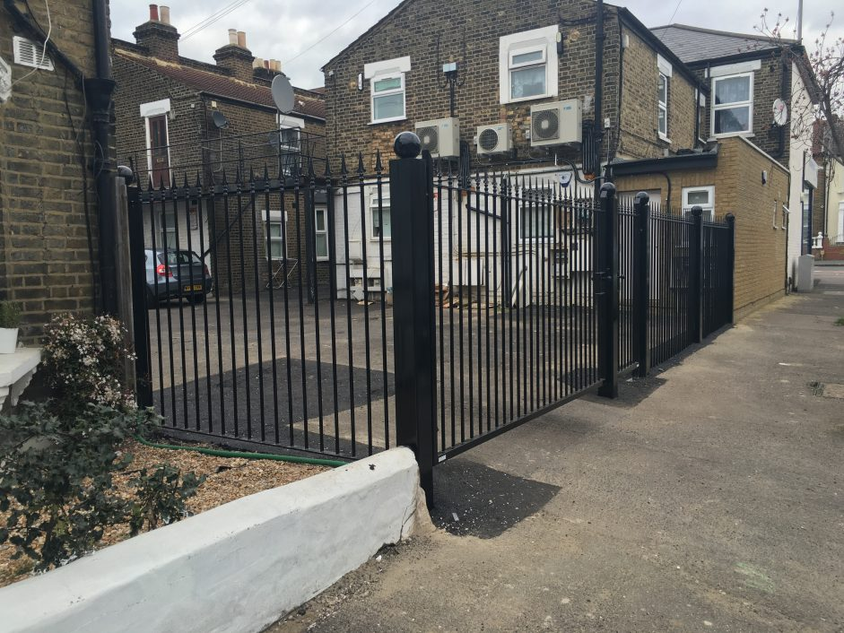 London gates grilles iron swing archives