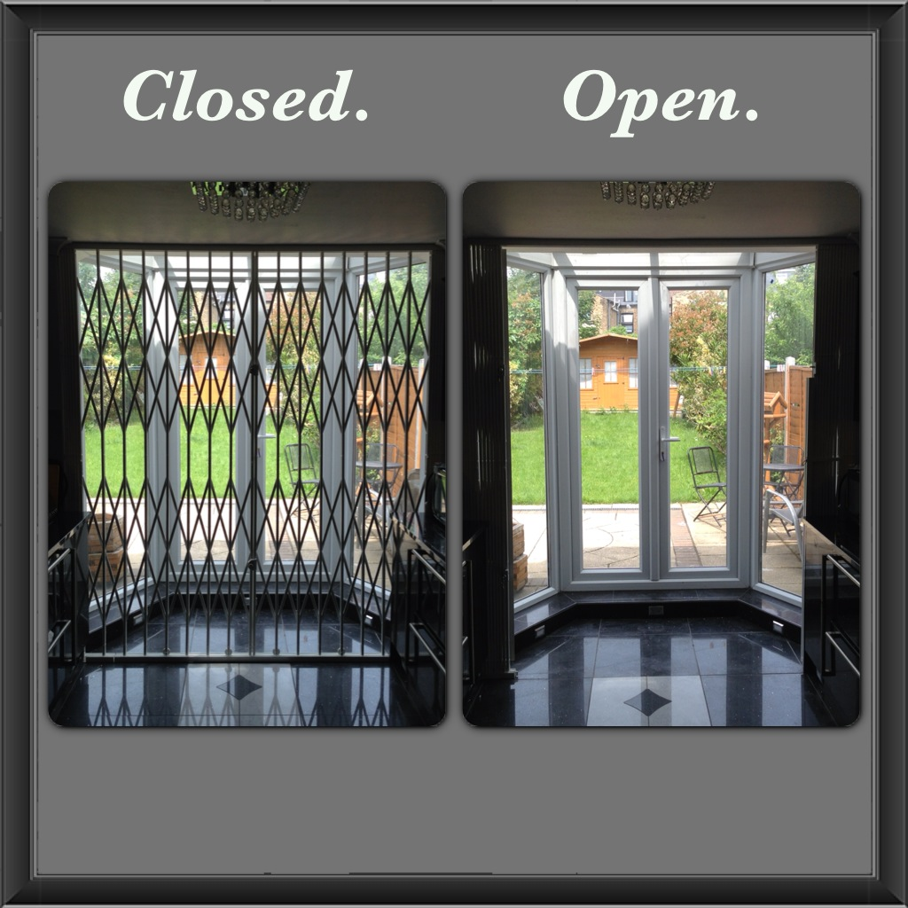 London Gates Amp Grilles Concertina Gates Archives London
